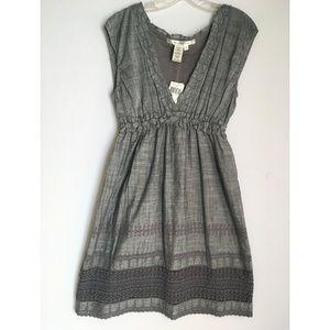 NWT Max Studio cotton empire dress Large NEW